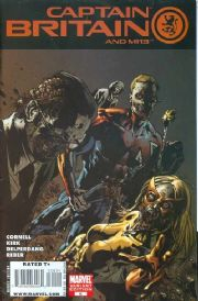Captain Britain And MI13 #6 Yardin Zombie Variant (2008) Marvel comic book